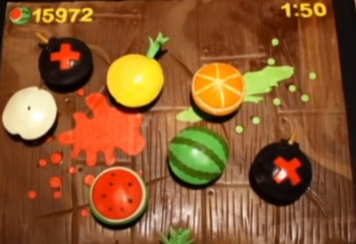 Fruit Ninja Cupcake