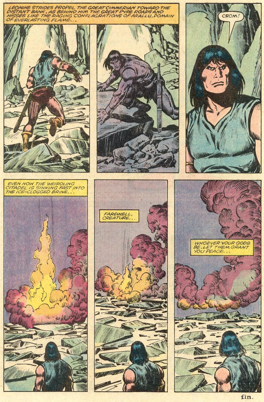 Conan the Barbarian (1970) Issue #150 #162 - English 23