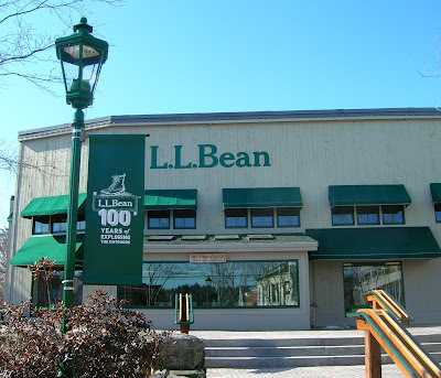 LL Bean store in Freeport Maine