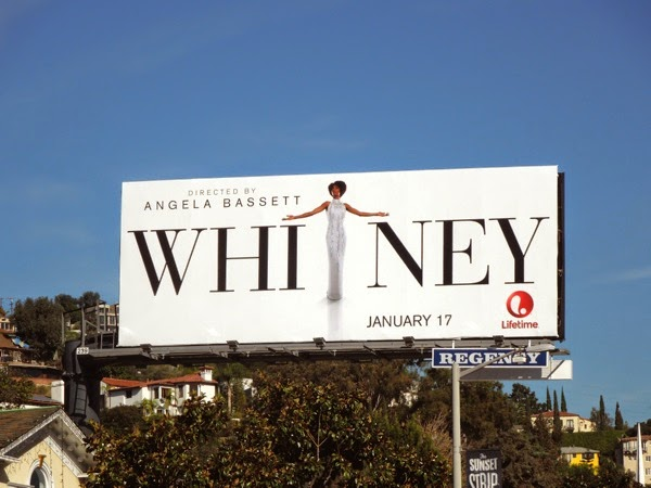 Whitney Lifetime movie billboard