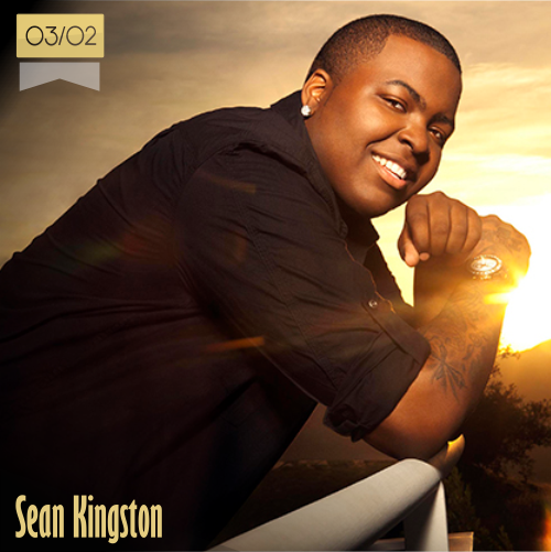 3 de febrero | Sean Kingston - @SeanKingston | Info + vídeos