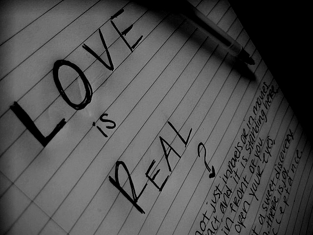 Is love real??