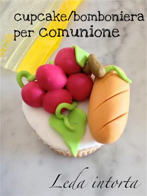 cupcake decorati, bomboniere per comunione