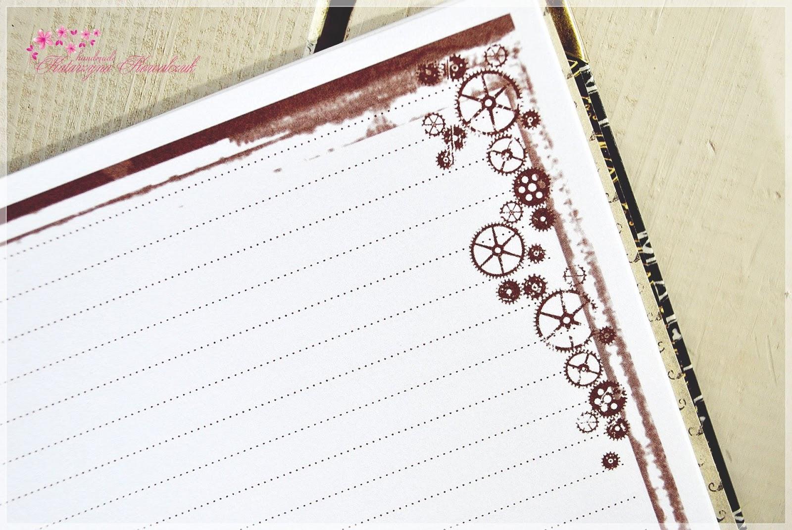 notatnik pamiętnik scrapbooking