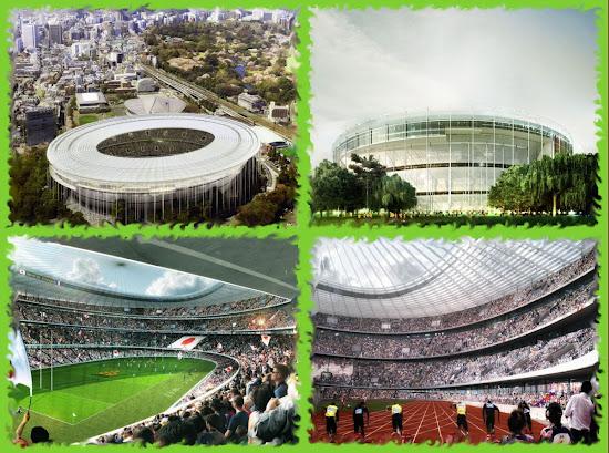 Проект стадиона на солнечных батареях