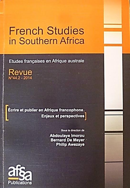 <em>Écrire et publier en Afrique Francophone. Enjeux et perspectives</em>
