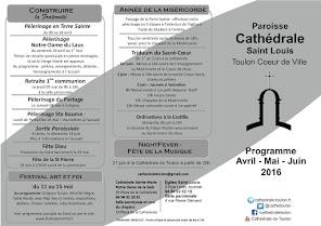 Programme Avril à Juin 2016