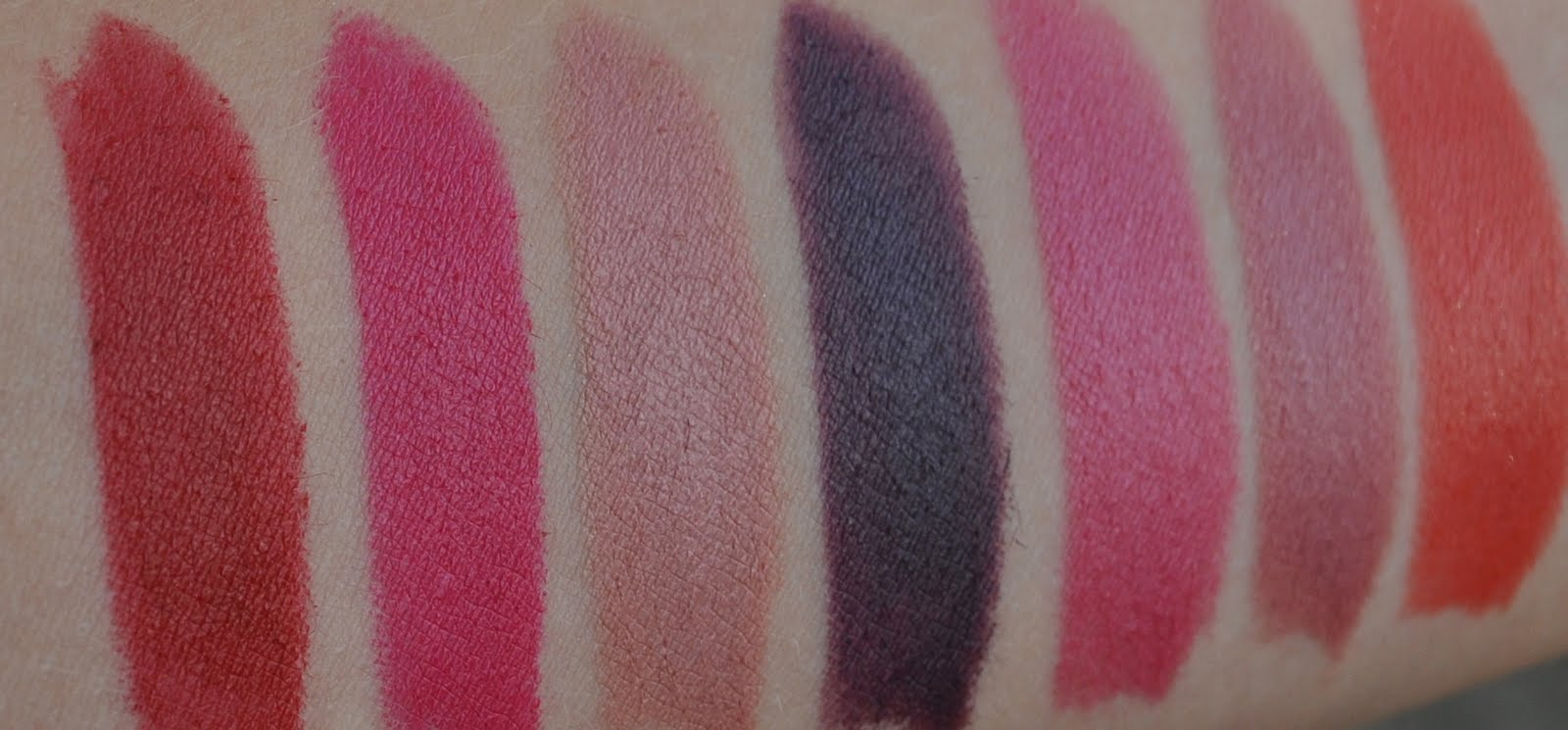 Swatched: Kate Moss' Lipstick Collection for Rimmel - Fleur De Force
