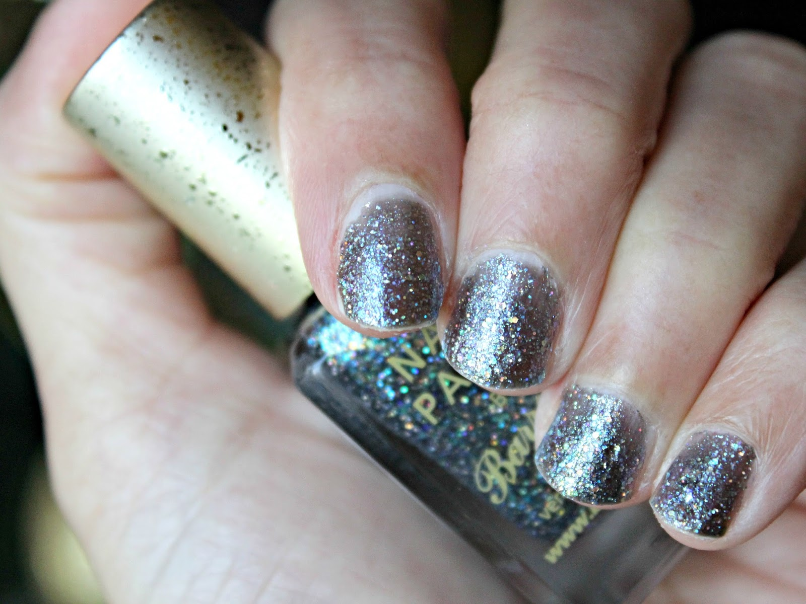 A picture of the Barry M Glitterati Nail Paint - Rockstar