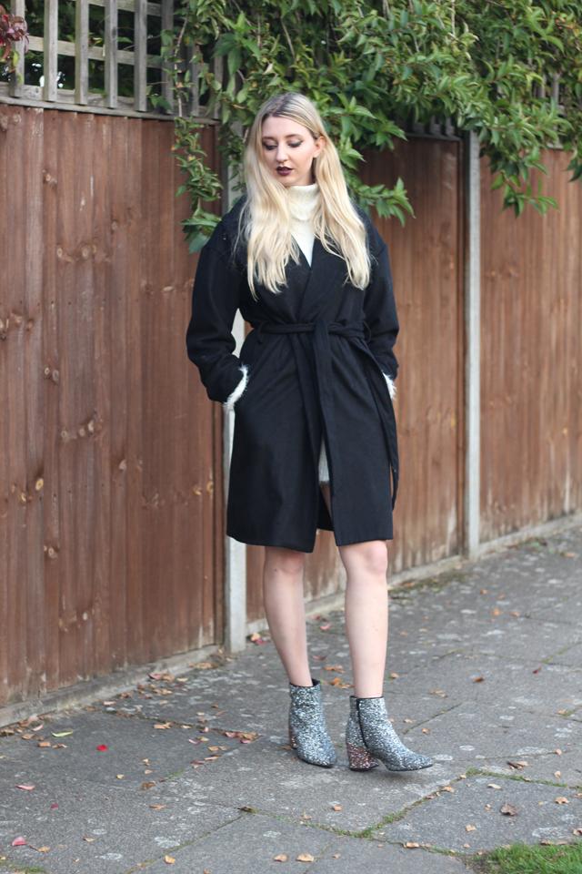 Kim K style coat