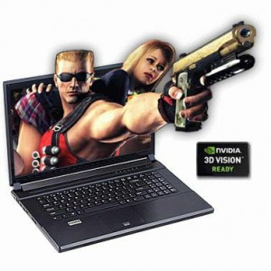 Clevo P170HM-3DE 3D Gaming Laptop