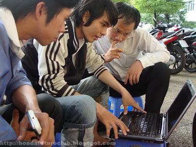 Dùng laptop vào Biker Việt Nam