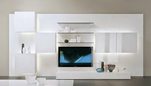 modern tv storage cabinet by acerbis