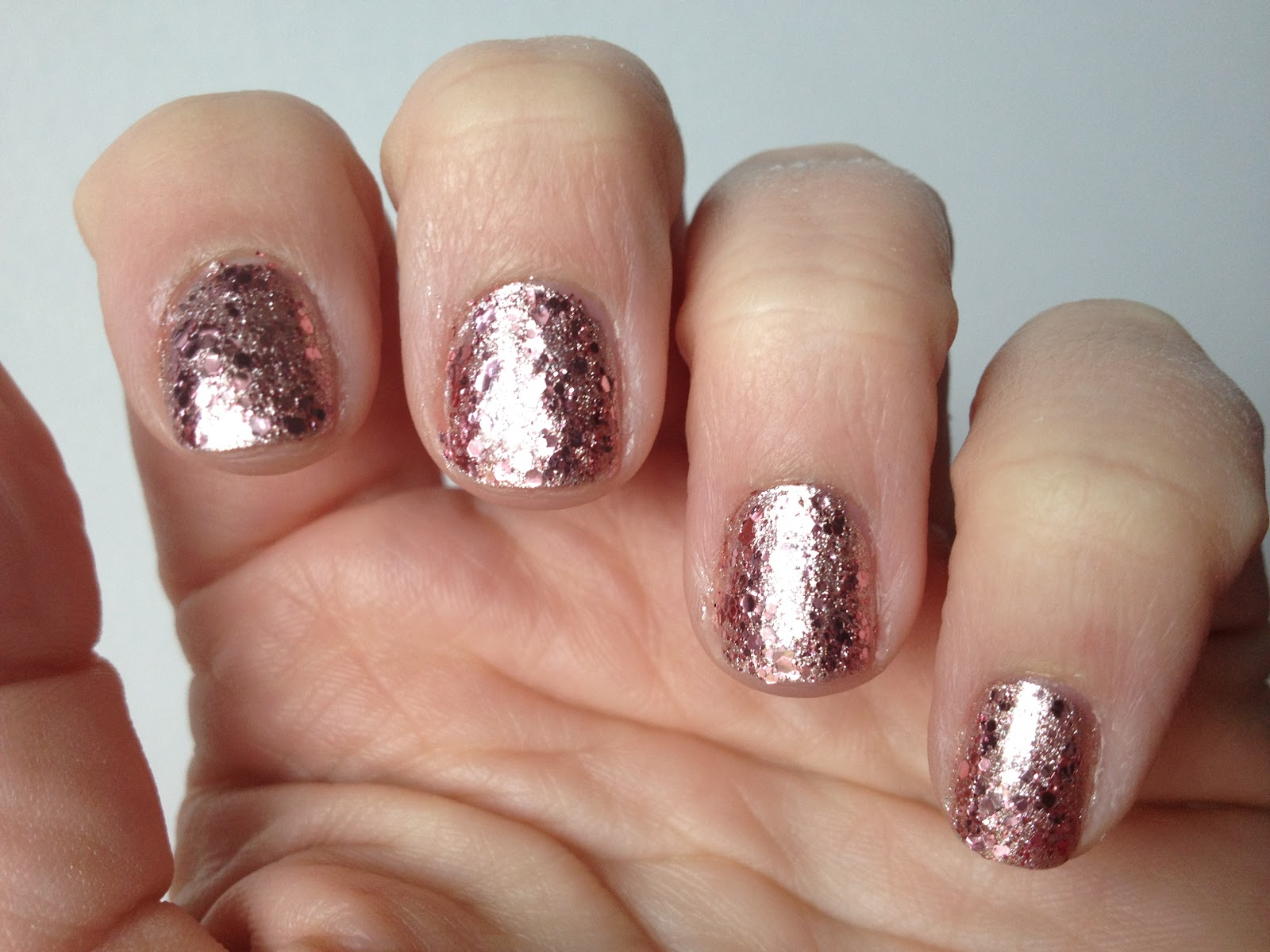 ManicureMonday: Rose Gold Mani - At the Pink of Perfection
