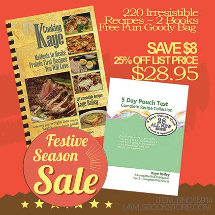 Sale: Cooking with Kaye Cookbook Bundle