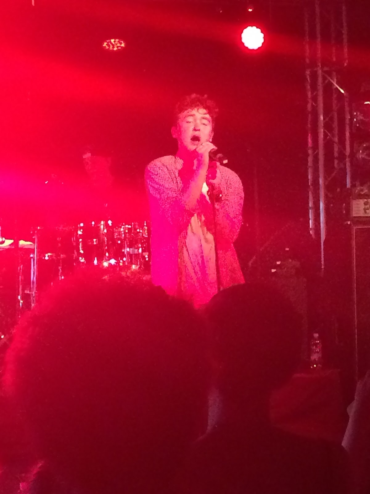 Jake Roche singing live rixton hyde park