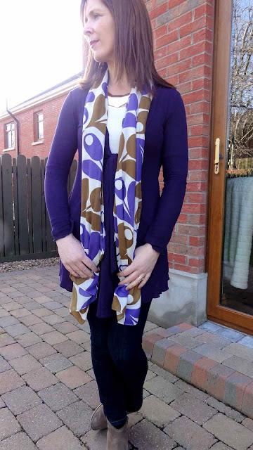 Purple1 Back to Basics   Orla Kiely Purpleness