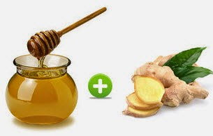 Drink a mixture of Honey and Ginger