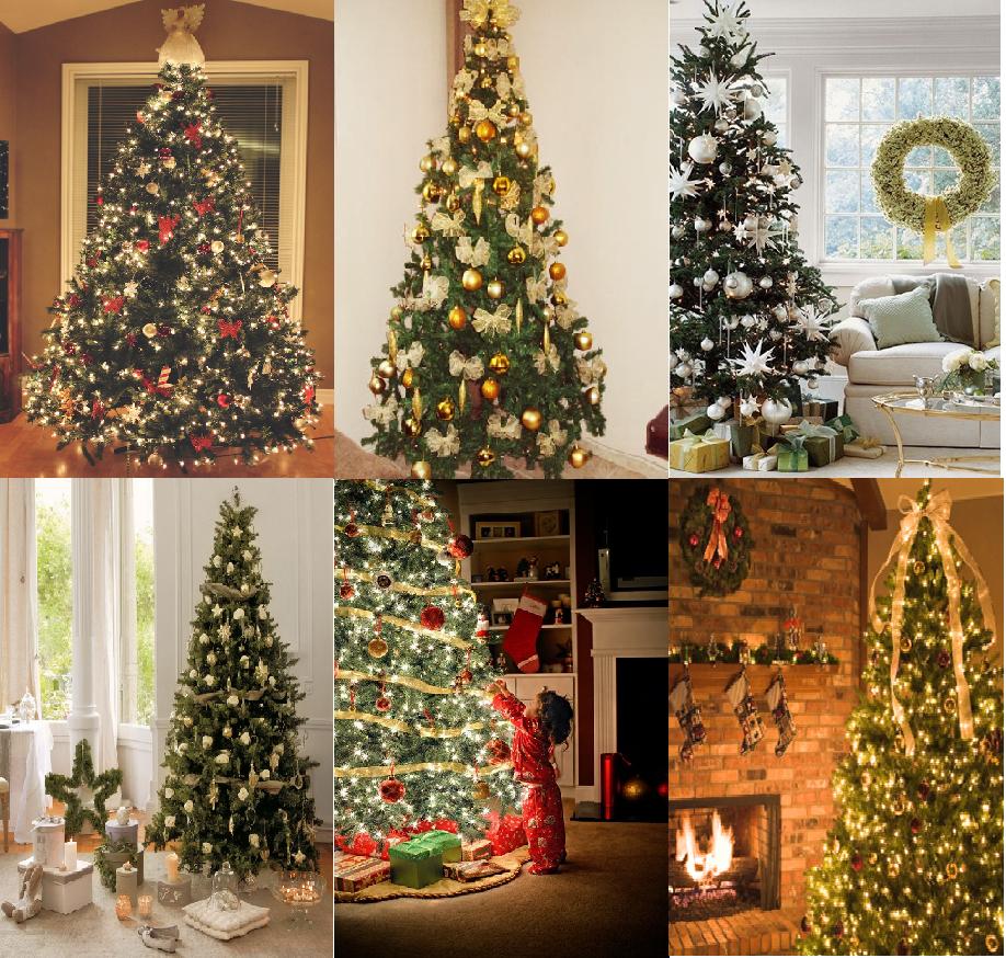 ideias para decorar arvore de natal branca : ideias para decorar arvore de natal branca:cantinho da tequis: inspiração para a árvore de natal