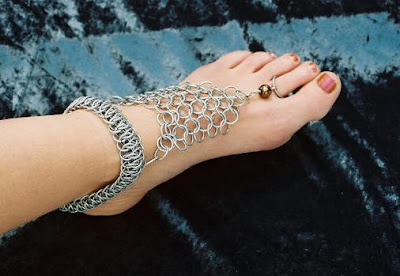 she fashion club payal with ring for feet