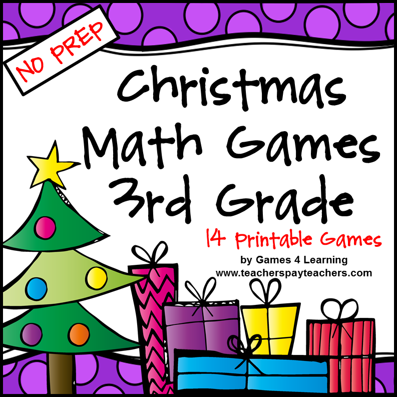 Fun Games 4 Learning Christmas Math Fun FREEBIE Limited Time – 3rd Grade Christmas Math Worksheets
