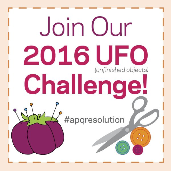 All People Quilt 2016 UFO Challenge