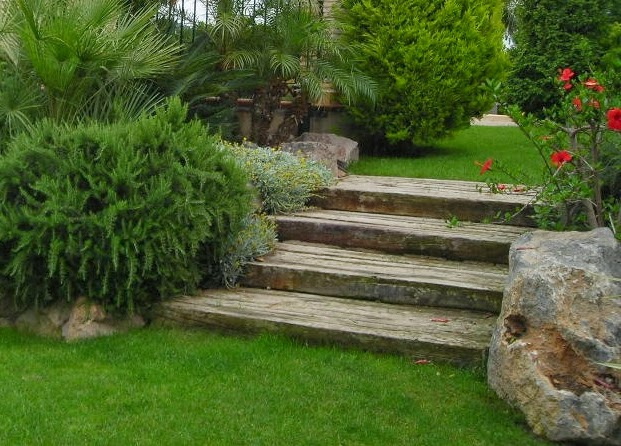 Crea tu jard n trucos para regar menos - Cortavientos de jardin ...
