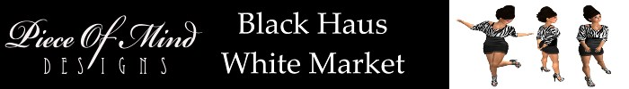 Piece of Mind Designs,Black Haus White Market
