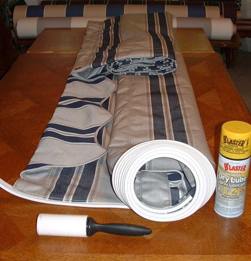 how to make an awning