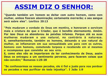 ASSIM DIZ O SENHOR