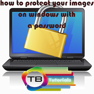 protect your images on windows with a password