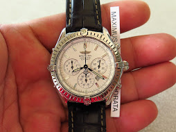 BREITLING CHRONOMETRE CHRONOGRAPH WHITE DIAL - AUTOMATIC