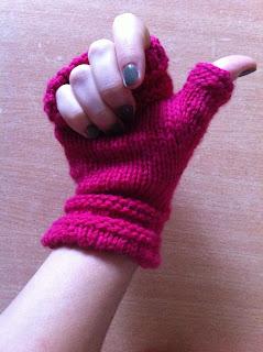 tricot terminé