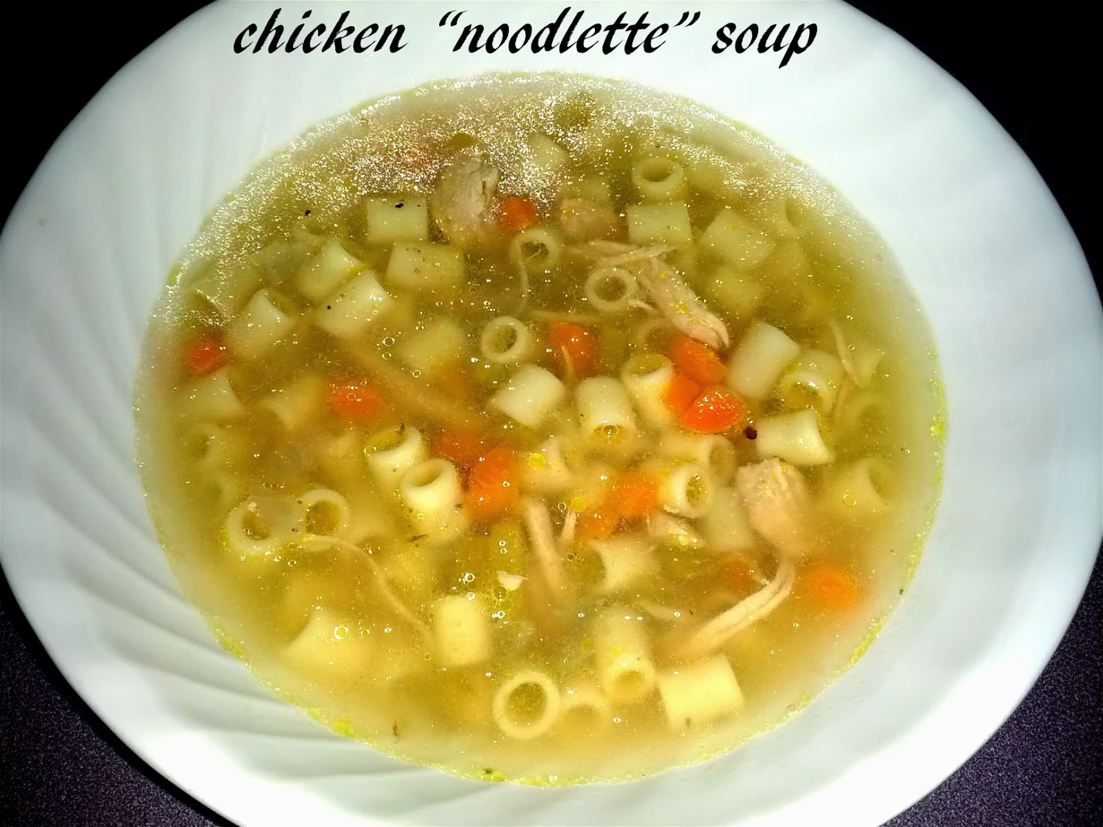 The hawkeye plate chicken noodlette soup my wife bought me a food network cookbook called how to boil water a few years ago it was a little tongue in cheek way of saying that the recipes are forumfinder Images