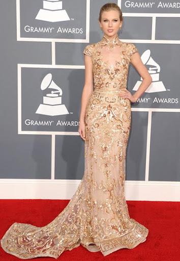 Тейлър Суифт в рокля на Zuhair Murad Грами 2012