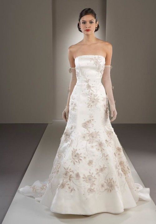 Bridal dresses for older brides for Older brides wedding dresses