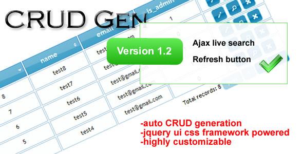 odeCanyon   CRUD Gen V1.2