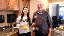 Volunteers: Jerika and Ross