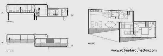 Planos de arquitectura Casa PR34 México