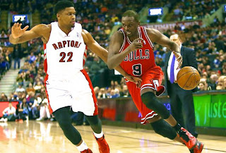 Toronto Raptors, Chicago Bulls, NBA, Rudy Gay