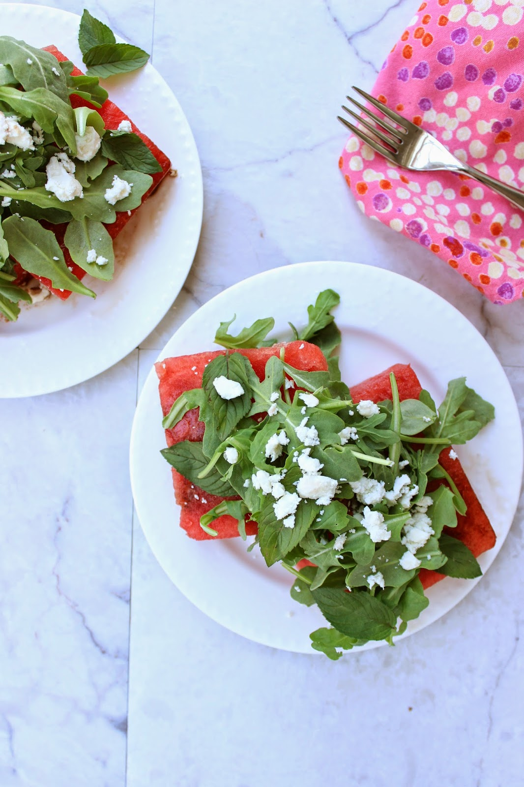 stew or a story watermelon arugula salad with balsamic feta mint. Black Bedroom Furniture Sets. Home Design Ideas