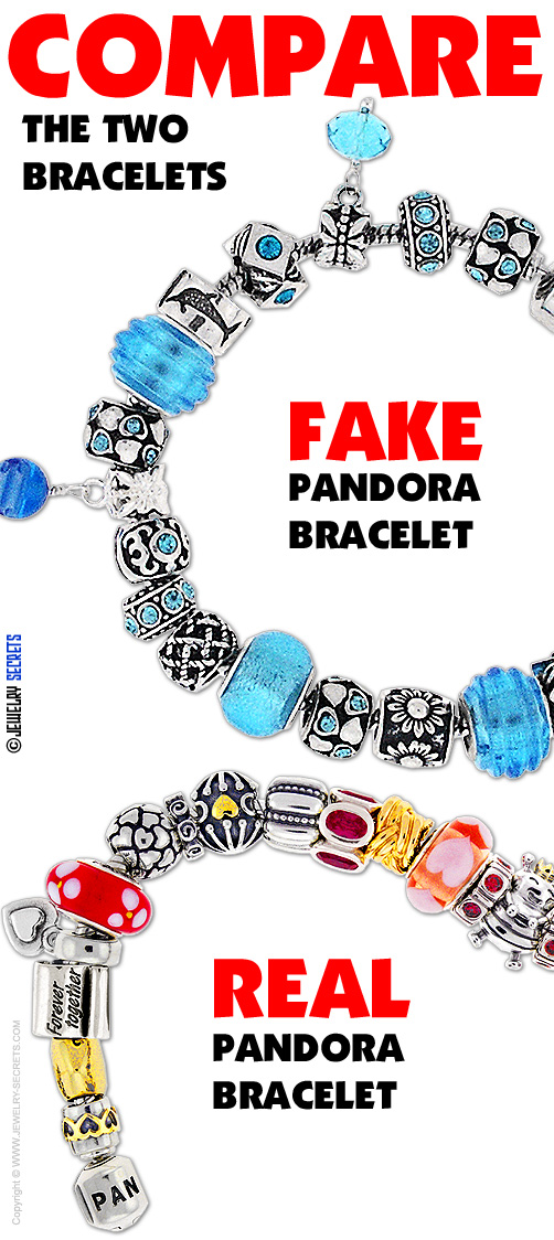 Chinese Product Reviews How To Spot Fake Pandora Bracelets From China