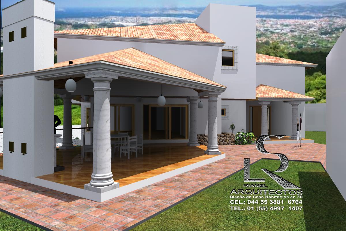 Proyectos virtuales dise o de casa habitaci n en 3d arq - Diseno de casas 3d ...