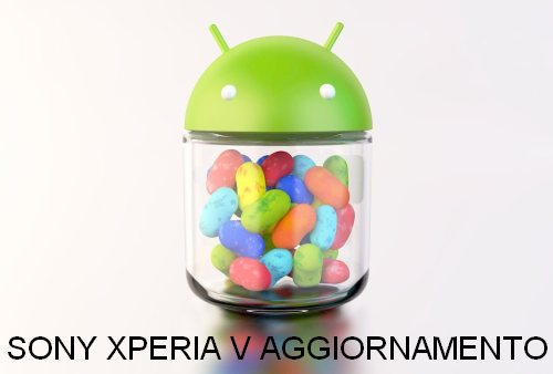 Iniziato il rilascio ufficiale in Europa della versione Jelly Bean 4.1.2 per lo smartphone Sony Xperia V
