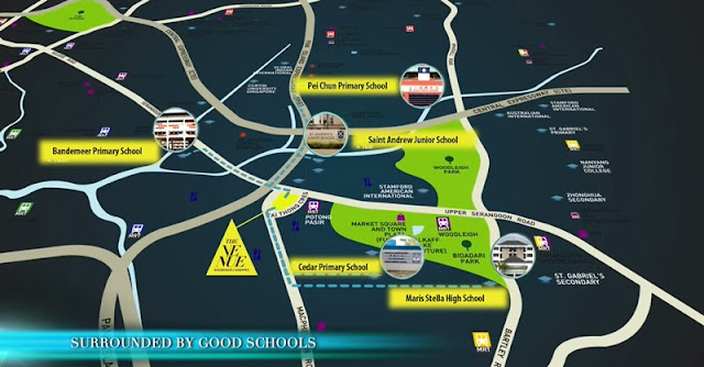 schools around the venue residences