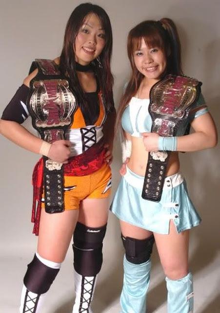 Hiroyo Matsumoto and Misaki Ohata - Japanese Female Wrestling