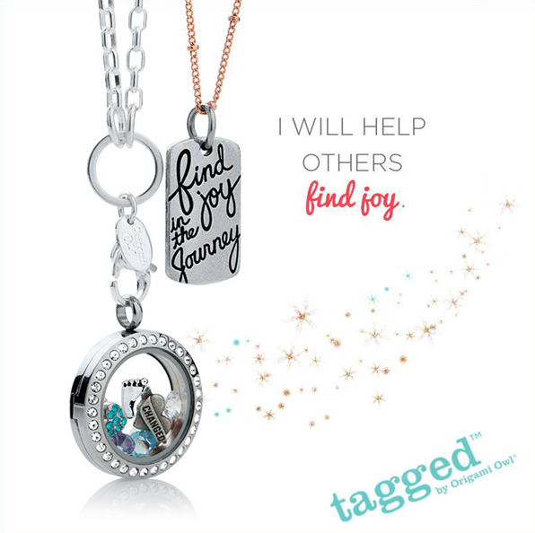 Find Joy in the Journey Origami Owl Tagged Collection | Shop StoriedCharms.com