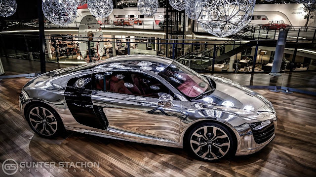 Chrome edition Audi R8 5.2 FSI