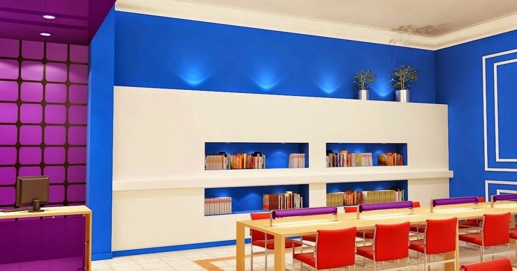 kombinasi warna cat dinding untuk interior rumah design