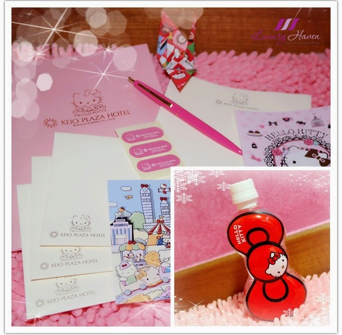 pink hello kitty stationery set christmas giveaways